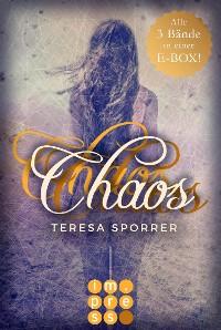 Cover Die E-Box zur Chaos-Reihe mit allen Bänden der Fantasy-Trilogie! (Die Chaos-Reihe )