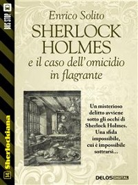 Cover Sherlock Holmes e il caso dell'omicidio in flagrante