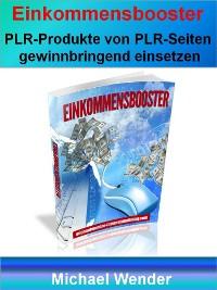 Cover Einkommensbooster durch PLR