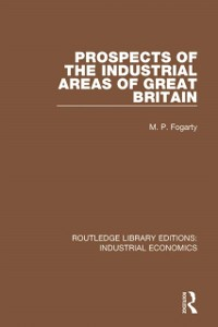 Cover Prospects of the Industrial Areas of Great Britain