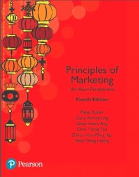 Cover Principles of Marketing, An Asian Perspective