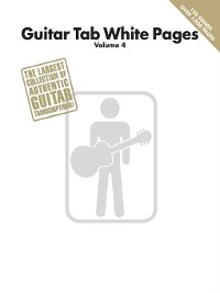Cover Guitar Tab White Pages--Volume 4 (Songbook)