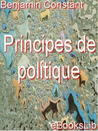 Cover Principes de politique