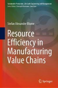 Cover Resource Efficiency in Manufacturing Value Chains