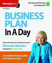 Cover Business Plan in a Day