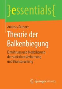 Cover Theorie der Balkenbiegung