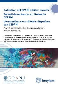Cover Collection of CEPANI arbitral awards / Recueil de sentences arbitrales du Cepani / Verzameling van arbitrale uitspraken van Cepani