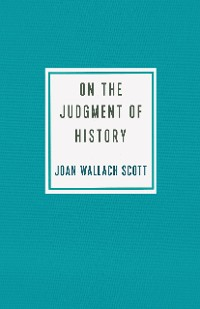 Cover On the Judgment of History