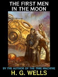 Cover The First Men in the Moon.