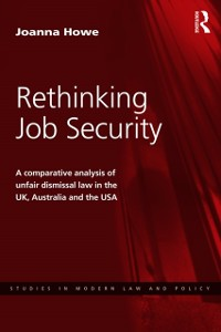 Cover Rethinking Job Security