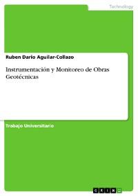 Cover Instrumentación y Monitoreo de Obras Geotécnicas