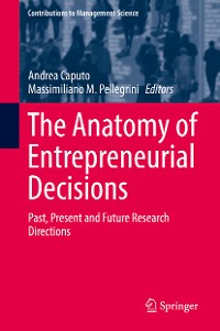Cover The Anatomy of Entrepreneurial Decisions