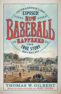 Cover How Baseball Happened