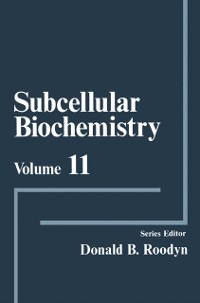 Cover Subcellular Biochemistry