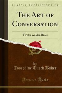 Cover The Art of Conversation