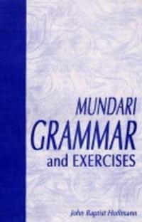 Cover Mundari Grammar and Exercises