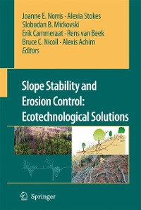 Cover Slope Stability and Erosion Control: Ecotechnological Solutions