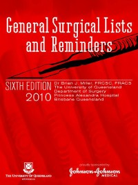 Cover General Surgical Lists and Reminders
