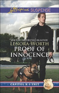 Cover Proof of Innocence (Mills & Boon Love Inspired Suspense) (Capitol K-9 Unit, Book 6)