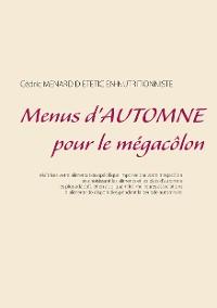 Cover Menus d'automne pour le mégacôlon
