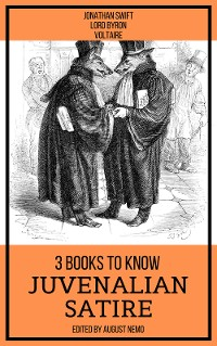 Cover 3 books to know Juvenalian Satire