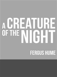 Cover A Creature of the Night