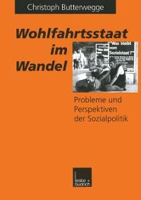 Cover Wohlfahrtsstaat im Wandel