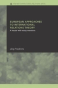Cover European Approaches to International Relations Theory