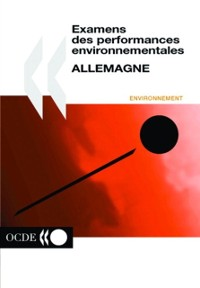 Cover OECD Environmental Performance Reviews: Germany 2001