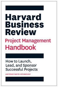 Cover Harvard Business Review Project Management Handbook