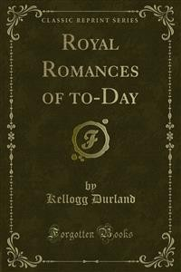 Cover Royal Romances of to-Day