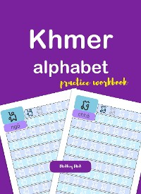 Cover Khmer Alphabet Handwriting