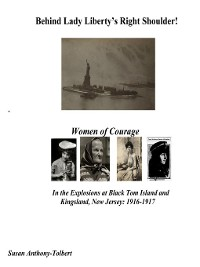 Cover Behind Lady Liberty's Right Shoulder! Women of Courage