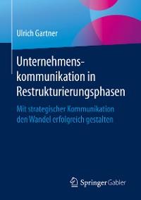 Cover Unternehmenskommunikation in Restrukturierungsphasen