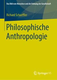 Cover Philosophische Anthropologie