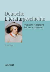 Cover Deutsche Literaturgeschichte