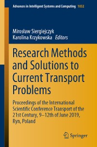 Cover Research Methods and Solutions to Current Transport Problems