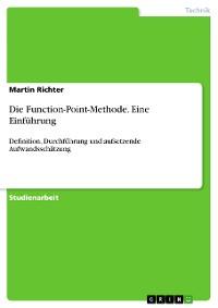 Cover Die Function-Point-Methode. Eine Einführung