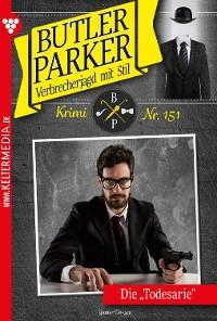 Cover Butler Parker 151 – Kriminalroman