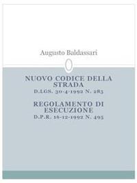 Cover Nuovo codice della strada
