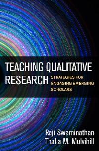 Cover Teaching Qualitative Research