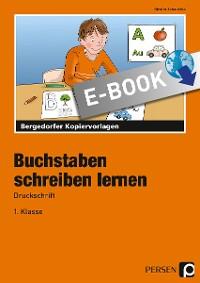 Cover Buchstaben schreiben lernen - Druckschrift