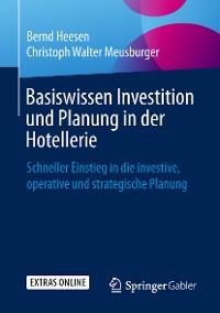 Cover Basiswissen Investition und Planung in der Hotellerie