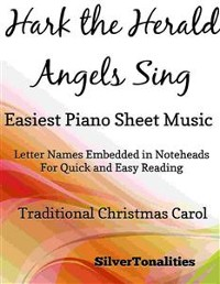 Cover Hark the Herald Angels Sing Easiest Piano Sheet Music