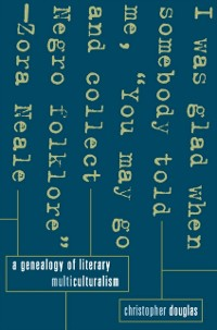 Cover Genealogy of Literary Multiculturalism