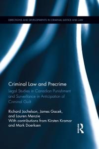 Cover Criminal Law and Precrime