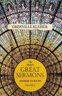 Cover The World's Great Sermons - Hooker to South - Volume II
