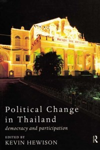 Cover Political Change in Thailand