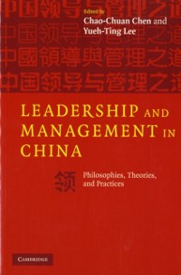 Cover Leadership and Management in China