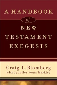 Cover Handbook of New Testament Exegesis